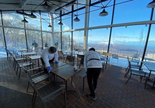 スキー場6施設 「抗ウイルスコーティング」施工完了のお知らせ