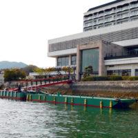 「安芸グランドホテル」 浮桟橋増築のお知らせ